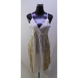 Dámské šaty Ayfee, bílo-béžové