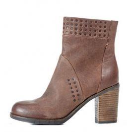 Dámské kotníkové boty Geox, hnědé