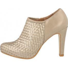 Dámské kotníčkové boty Roberto Botella Gris Metal 38