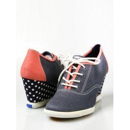 Dámske topánky na kline WF46521 Modrá 11