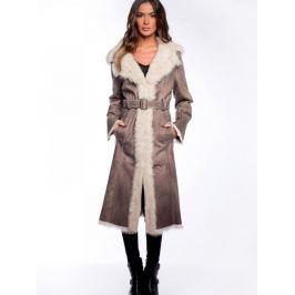 Dámsky kabát John And Yoko Antonella, hnědý