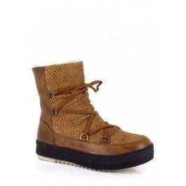 Kimberfeel Dámská kotníčková zimní obuv KYM_BEIGE