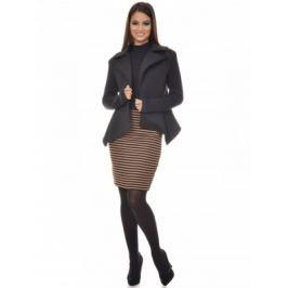 Dámsky kabát AVG035_black 42 Černá