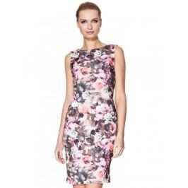 Dámske šaty byH1-Dress-112-pink-mix Růžová 38