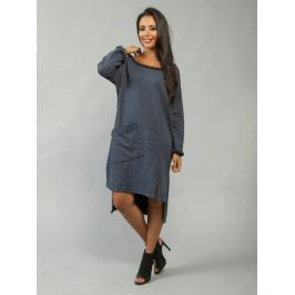 Dámske šaty Fiona_blue 46 Modrá
