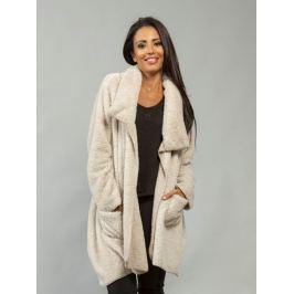 Dámsky kabátik Jasmine_beige 48 Béžová
