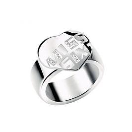 Dámský prsten Miss Sixty Love s kamínkem, 48