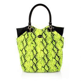 Dámská taška Just Cavalli S11WC0023 15F, černo-zelená