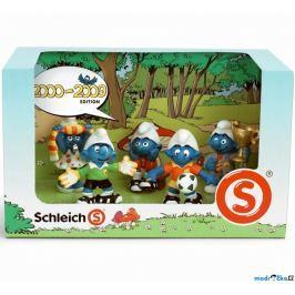 Set 5 šmoulů Schleich 2000-2009