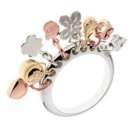 Dámský prsten Miss Sixty s přívěsky, 56