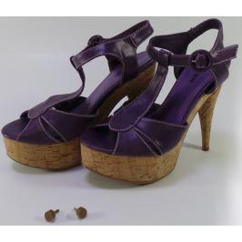 Dámské sandály Mixer, fialové