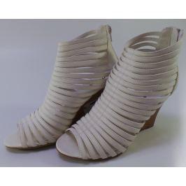 Dámské páskové sandály Mixer, bílé