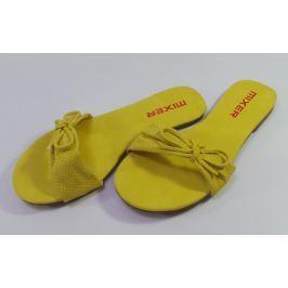Dámské pantofle Mixer, žluté