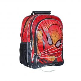 Disney Brand Chlapecký batůžek Spiderman, červený