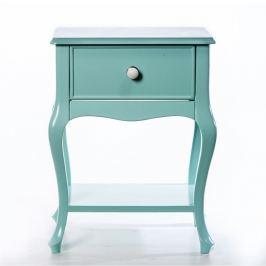 Woodenbend Odkládací stolek Purl Light Green, 44x33x60 cm