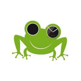 Clocker Samolepící designové hodiny Frog