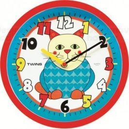Twins Nástěnné hodiny 10410 Cat EOL