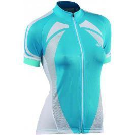 Dámský cyklodres Northwave Logo Lady, modro-bílý