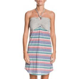 Roxy Sunshine Dress Heather Grey, 38, vícebarevná