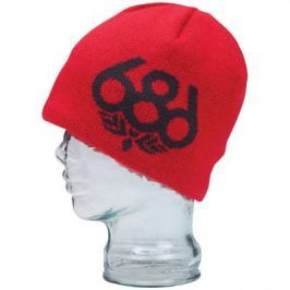 686 Wreath Fleece Beanie Red uni Červená