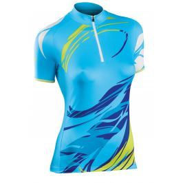 Dámský cyklo dres Northwave StarLight, modrý