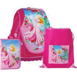 Anatomický školský SET ABB batoh Disney Princezné Ruženka