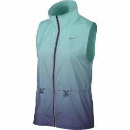 Dámská běžecká vesta Nike Gradient, modrá