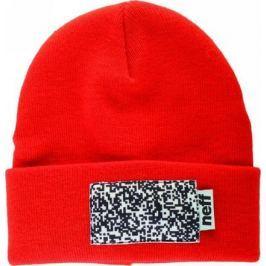 Pánská čepice Neff Picto M, červená, S