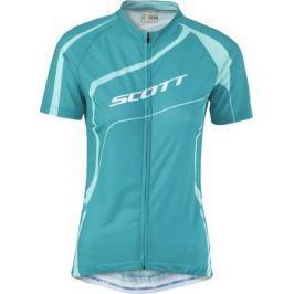 Dámský cyklistický dres Scott Shadow 20 SSL, modrý