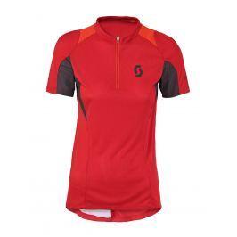 Dámský cyklistický dres Scott Womens Sky 10, červený