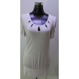 Dámské tričko Piazza Italia, bílé, M