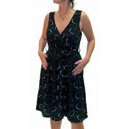 Dámské šaty Lipsy London, černé se vzorem