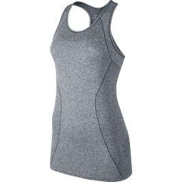 Nike Dri-Fit Knit Tank Wolf Grey/Heather/Reflective Silver, XL, šedá