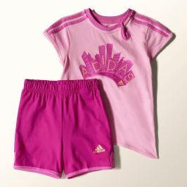 Dětská souprava Adidas, růžová