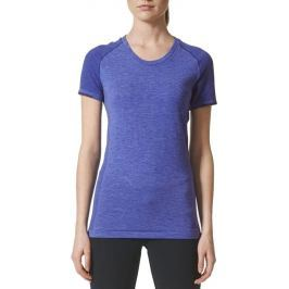 Dámské běžecké triko Adidas Adistar Wool Primeknit Tee, modré