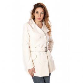 Dámský kabát Blend Bianco Plana, krémová, M