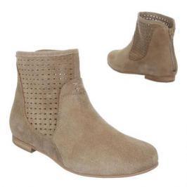 Dámské kotníčkové boty Dinago, béžové