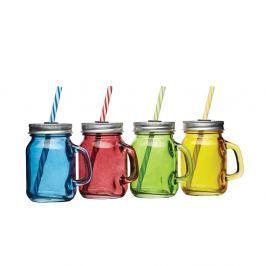 Sada skleniček Kitchen Craft Bar, barevné