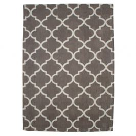 Bavlněný koberec Boho Grey/White, 150x210 cm