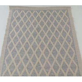 Černý vysoce odolný koberec Webtappeti Stuoia, 160 x 230 cm