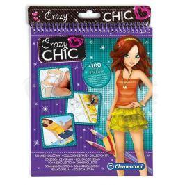 CLEMENTONI Crazy CHIC - Sketchbooks letní móda