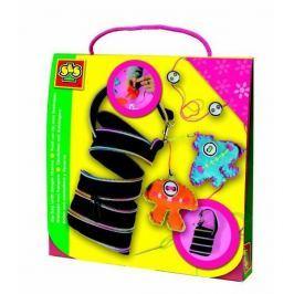 SES Módní taška s cool přívěšky