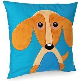 Polštář O-oops Happy Cushion, pes, 40x35