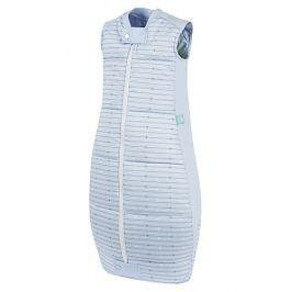 ergoPouch Organic Cotton Quilt Sleeping bag/Sleep Suit Bag 3.5 TOG - Spací pytel (07. Blue Stars&Stripes 12-36 m)