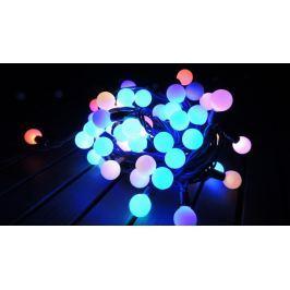 Noel Řetěz kuličky 100 LED 10+1,5 m multicolor