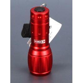 LED svítilna Emos P3882, kovová, červená