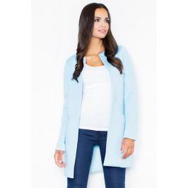 Dámský kabát Figl, svetlě modrý, S