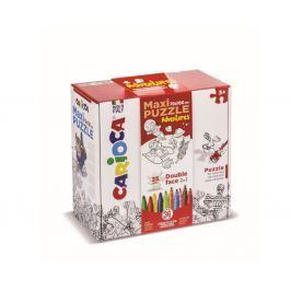 Kreativní set CARIOCA Maxi Puzzle Assort 71 ks