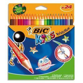 Pastelky BIC KIDS EVOLUTION 24 ks, blistr