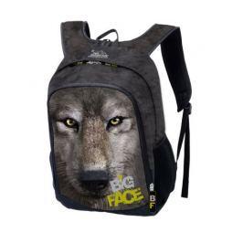 Školní batoh Big Face Mountain - vlk